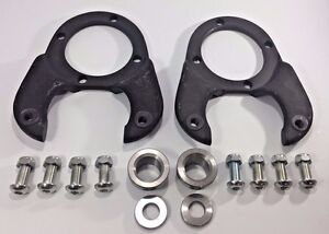 1937 1948 Ford Disc Brake Kit Spindle Brackets For Gm Brakes Hot Rod Rat Rod