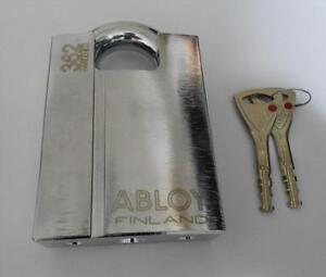 Abloy Pl362 Protec High Security Pickproof Lock Shrouded Hardened Steel Padlock