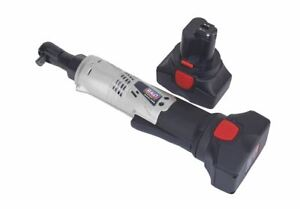Sealey Cp6002 Cordless Ratchet Wrench 14 4v 2ah Lithium Ion 3 8 Sq Drive 68nm 4