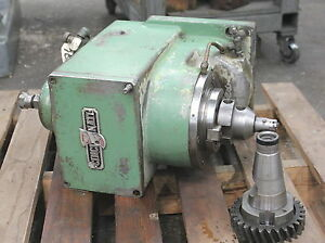 Cincinnati Vertical Milling Attachment For 100 Powermatic