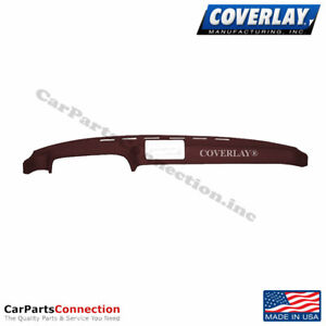 Coverlay Dash Board Cover Maroon 20 924 Mr For Porsche 924 Front Upper