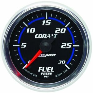 Autometer Fuel Pressure Gauge Gas New 6161