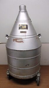 Hofman Cryogenic Liquid Nitrogen Storage Container Cryo Dewar