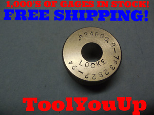 6248 Smooth Bore Ring Gage 6250 0002 Undersize 5 8 Inspection Tool Tooling