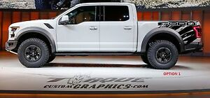 Ford Wave bed Graphics vinyl Decal Ford Chevy Ram Trucks Custom Graphics