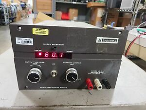 Lambda Lq533 Dc Power Supply Output 0 60 Vdc