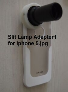 Slit Lamp Adapter For Iphone 5 With Best Quality For Any Slit Lamp