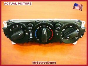 2012 ford focus ac heater Temperature Control manual gasoline