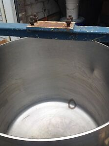 Industrial Stainless Steel Mixer Drum Famed