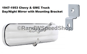 Day Night Interior Rear View Mirror Bracket For 1947 53 Chevy Gmc Truck