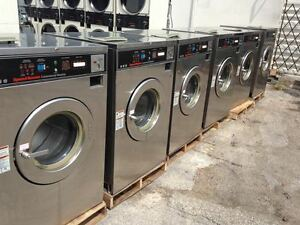 Speed Queen Md2 1ph Set Of 10 7 18lb 1 25lb 2 30lb Coin Laundry Equipment