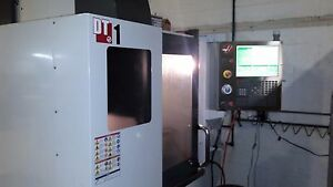 Haas Dt 1 20 X 16 Y 15 5 Z Cnc Vertical Machining Center New 2014