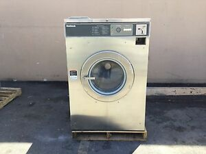 Huebsch Washers Md2 3ph set Of 6 50lb 19 577 Coin Laundry Equipment