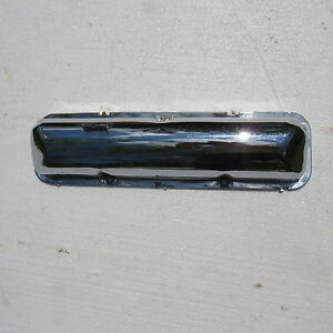 1962 63 64 Ford Mercury Thunderbird Fe Factory 390 406 427 Chrome Valve Cover