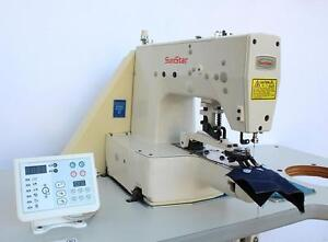 Sunstar Sps c b1202 Automatic Button Sewer Adjustable Industrial Sewing Machine