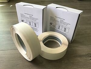2 Drywall Corner Bead Flex Metal Tapes Fits Inside And Outside Angle 100 Ft Ea