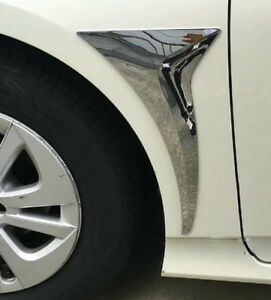 Chrome Side Door Fender Moulding Cover Trim For Toyota Prius Xw50 2016 2017 2018