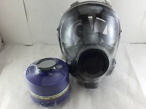 Nbc Gas Mask Nato Sge 400 3 W military grade 40mm Nbc Filter Exp 11 2022 All New