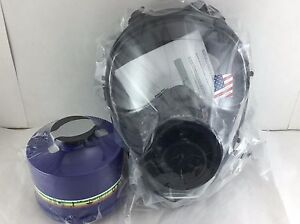 40mm Nato Sge 150 Gas Mask W military grade Nbc Filter Brand New
