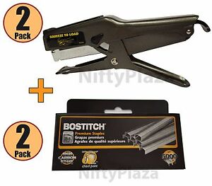 Lot Of 2 Brand New Bostitch B8 Stapler 2 Boxes B8 Staples Fast Free Shipping