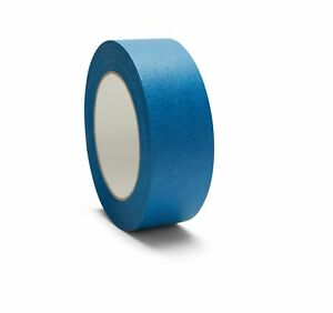 32 Rolls Quality Usa Made 0 75 Blue Painters Masking Trim Edge Tape 180 60 Yd