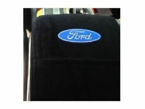 Konsole Armour Kaf150js11 16 Black Console Cover W logo For Ford F 150 Jump Seat