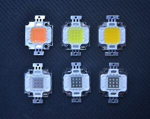 10w High Power Led Uv 365 420nm Ir 850nm 620nm 380 840nm Blue Red Rgb Light Chip