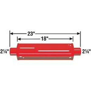 Cherry Bomb 87885cb Hot Rod Traditional Glass Pack Muffler 4 Red Cherry Bomb