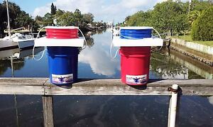 Published Patent Application 5 Gallon Floating Combination Bait chum live Well