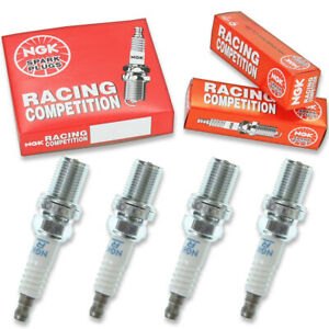 4 Pc 4 X Ngk Racing Plug Spark Plugs 4586 R6601 11 4586 R660111 Tune Up Kit Iw
