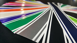 2 2 5 X 240 Vinyl Racing Stripe Pinstripe Decals Stickers 18 Colors Stripes