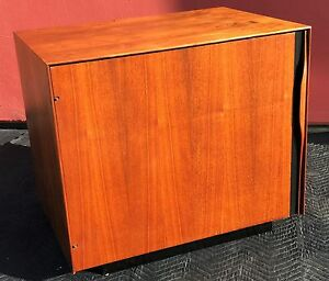 John Kapel For Glenn Of California Nightstand Cabinet Mid Century Modern Mcm