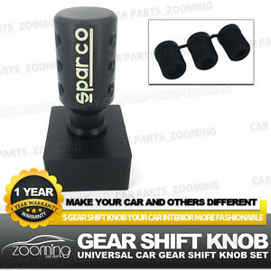 Universal Racing Manual And Automatic Car Gear Shift Knob Shifter Cover Lw11
