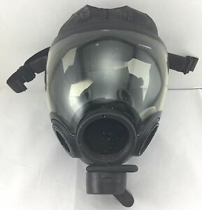 Msa Millennium 40mm Nato Cbrn Riot Control Gas Mask Only Size Large 10051288