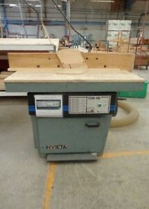 Invicta Ds 15 Shaper 7 5hp Spindle 5 5 16 X 1 1 4 Speed 10000rpm