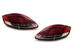 Depo Led Red Clear Rear Tail Lights Set For 2005 08 Porsche Boxster Cayman 987
