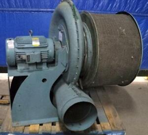 Kuhl Industrial Tba 12 20 tx 15 Exhaust Fan Blower 32 Motor 20hp 3ph 3500rpm