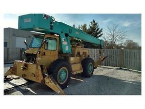 1972 Grove Model Rt58 16 Ton Mobile Truck Crane