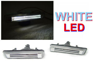 Depo Light Bar White Led Clear Fender Side Marker Light For 01 06 Bmw E46 M3