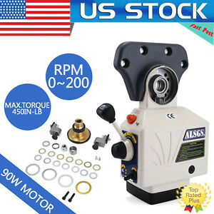 Alsgs 110v 220v Power Feed For Vertical Milling Machine X Y Axis Al 310sx Us