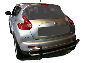 Wynntech S s Rear Bumper Guard Double Pipe For 2011 2017 Nissan Juke