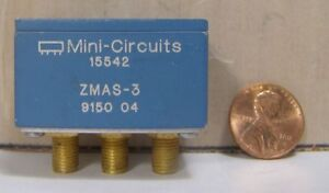 Mini circuits Attenuator Switch Model Zmas 3 S n 915004 Sma