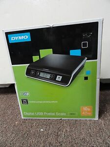 Brand New Dymo Digital Usb Postal Scale M10 10lb 4 5kg 1772057