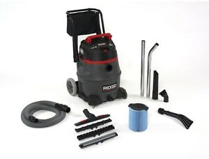 Ridgid 16 gallon 2 stage Commercial Portable Garage Shop Wet Dry Vacuum Cleaner