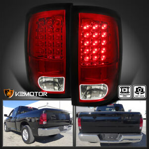 Red 2009 2018 Dodge Ram Pickup 1500 2500 3500 Led Rear Brake Lamps Tail Lights
