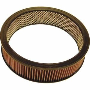 K n Washable Lifetime Performance Air Filter Round 14 Od 3 5 H E 3745