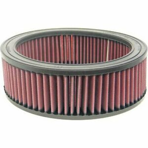 K N Washable Lifetime Performance Air Filter Round 9 Od 3 H E 3500