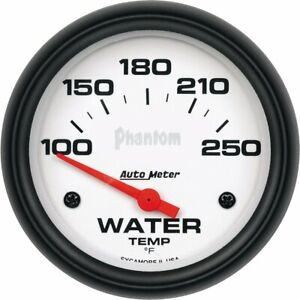 Autometer Water Temperature Gauge New 5837