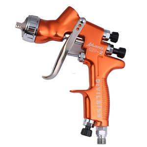 Devilbiss Hd 2 Hvlp Spray Gun Gravity Feed For All Auto Paint topcoat touch up