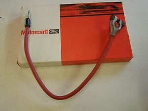 Nos Oem Ford 1979 1984 Mustang Positive Battery Cable 1980 1981 1982 1983 Gt Lx